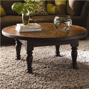 Classic Home Vintage Vintage Wheel Coffee Table