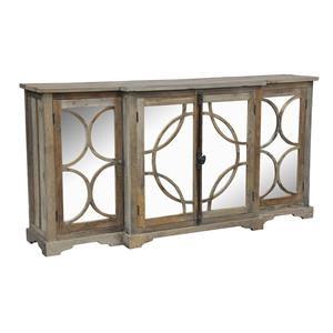Mirrored Door Front Sideboard