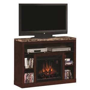 ClassicFlame Adams Media Mantel Fireplace