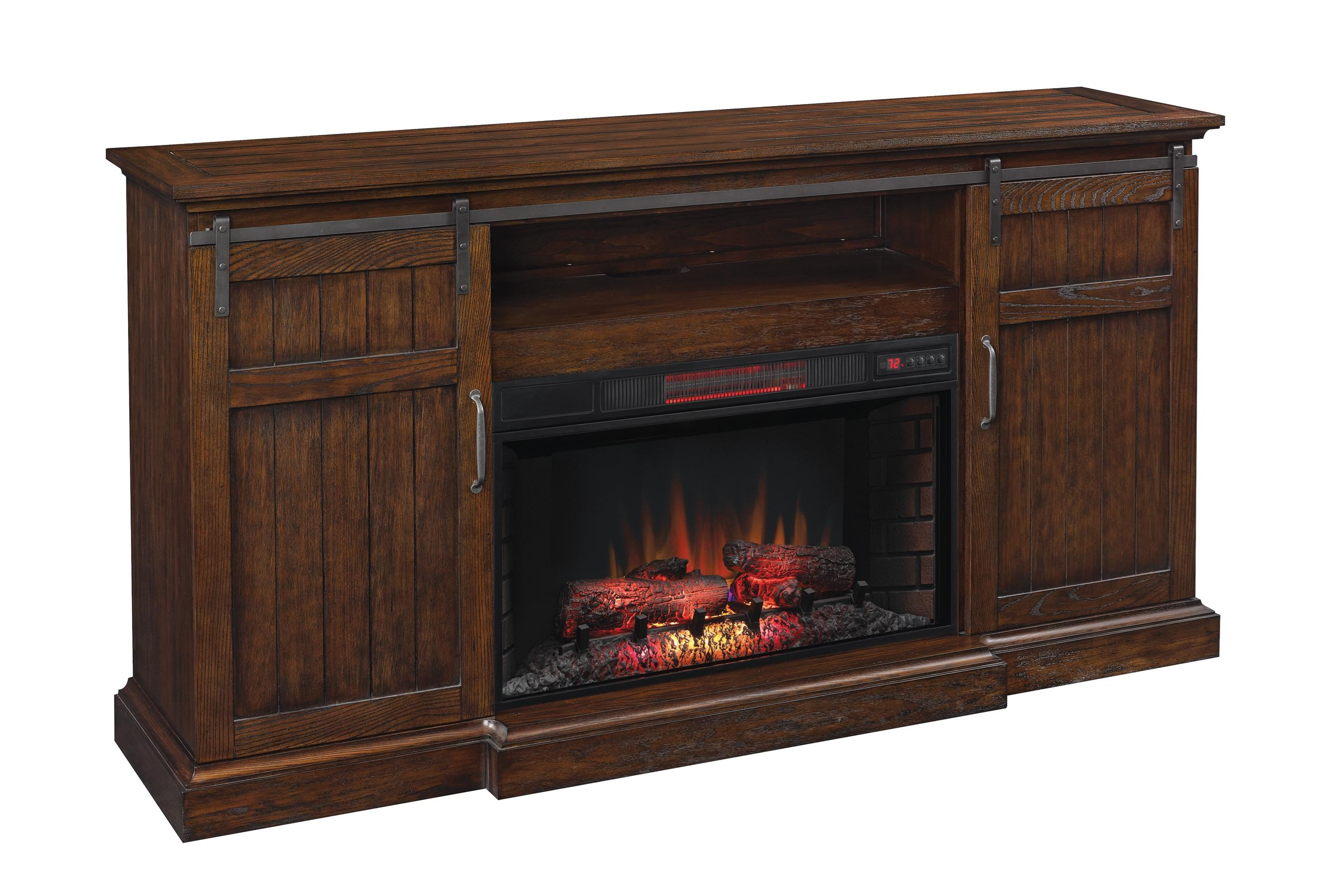 Capella Capella Fireplace Console by ClassicFlame at Morris Home
