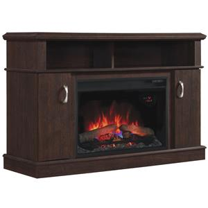 "26"" Media Fireplace Mantel"