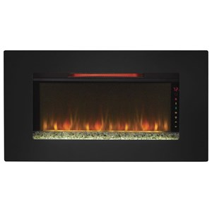 "36"" Wall Hanging Fireplace"