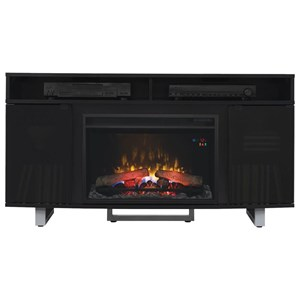 """56"""" Media Mantel with Wire Access Holes"""