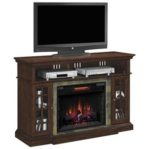 Media Mantel Electric Fireplace