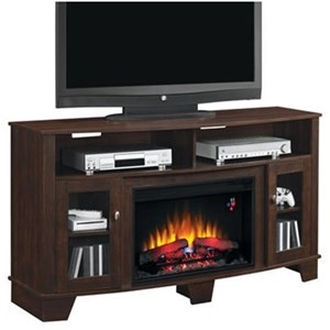 "59"" Fireplace Media Mantel"