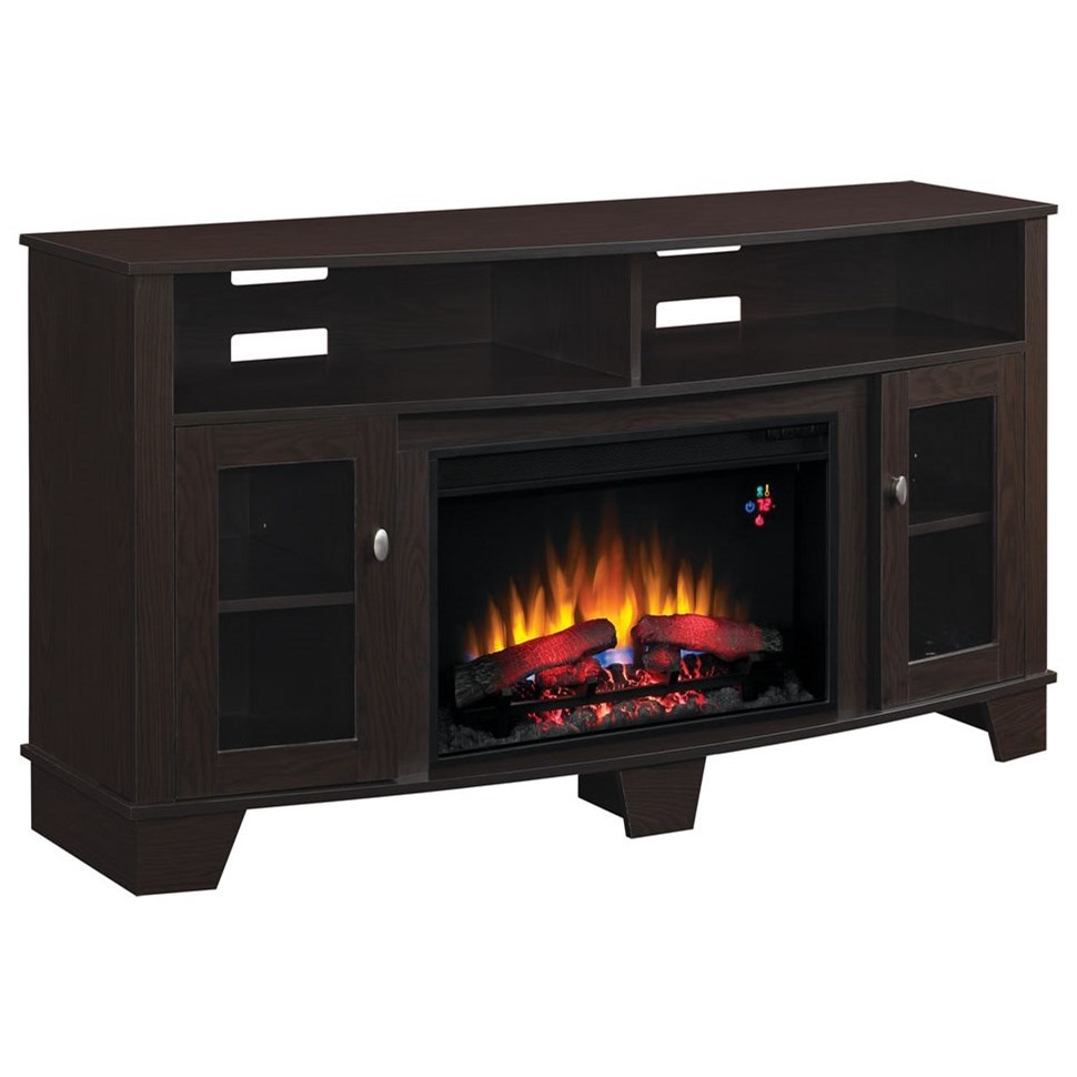"""LaSalle 59"""" Media Mantel by ClassicFlame at Darvin Furniture"""