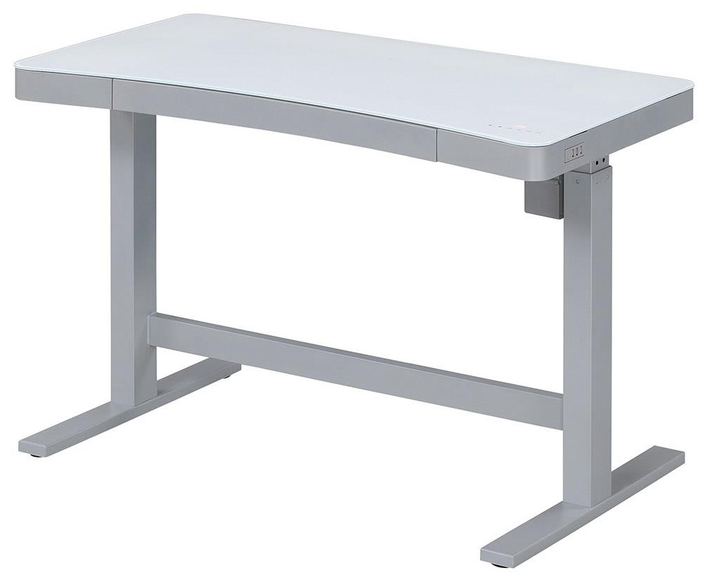 Rize Rize Adjustable Desk by ClassicFlame at Morris Home
