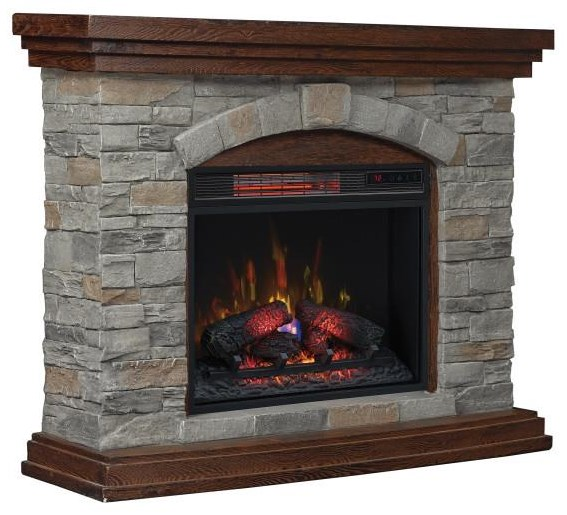 stonewood Stonewood Fireplace by ClassicFlame at Morris Home