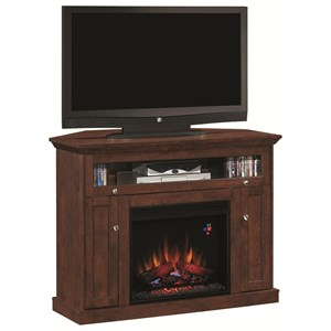 Dual Entertain Media Fireplace Mantel