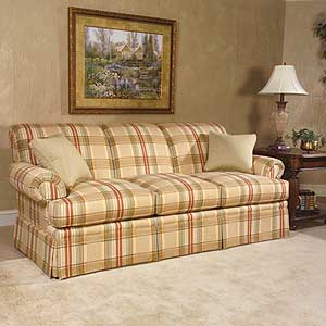 "Clayton Marcus 3176 85"" Stationary Sofa"