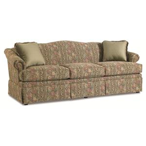 "Clayton Marcus Gladys 3174 78"" Traditional Camelback Sofa"