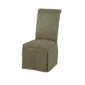 CMI Parson Chairs Upholstered Parson Chair with Skirt