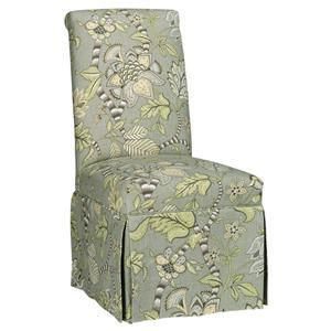 CMI Parson Chairs Skirted Parson Chair