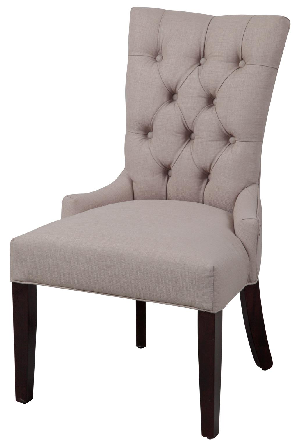 Parson Chairs Button Back Parson Chair by CMI at Johnny Janosik