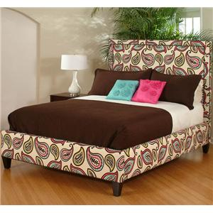 CMI Upholstered Beds Twin Upholstered Bed
