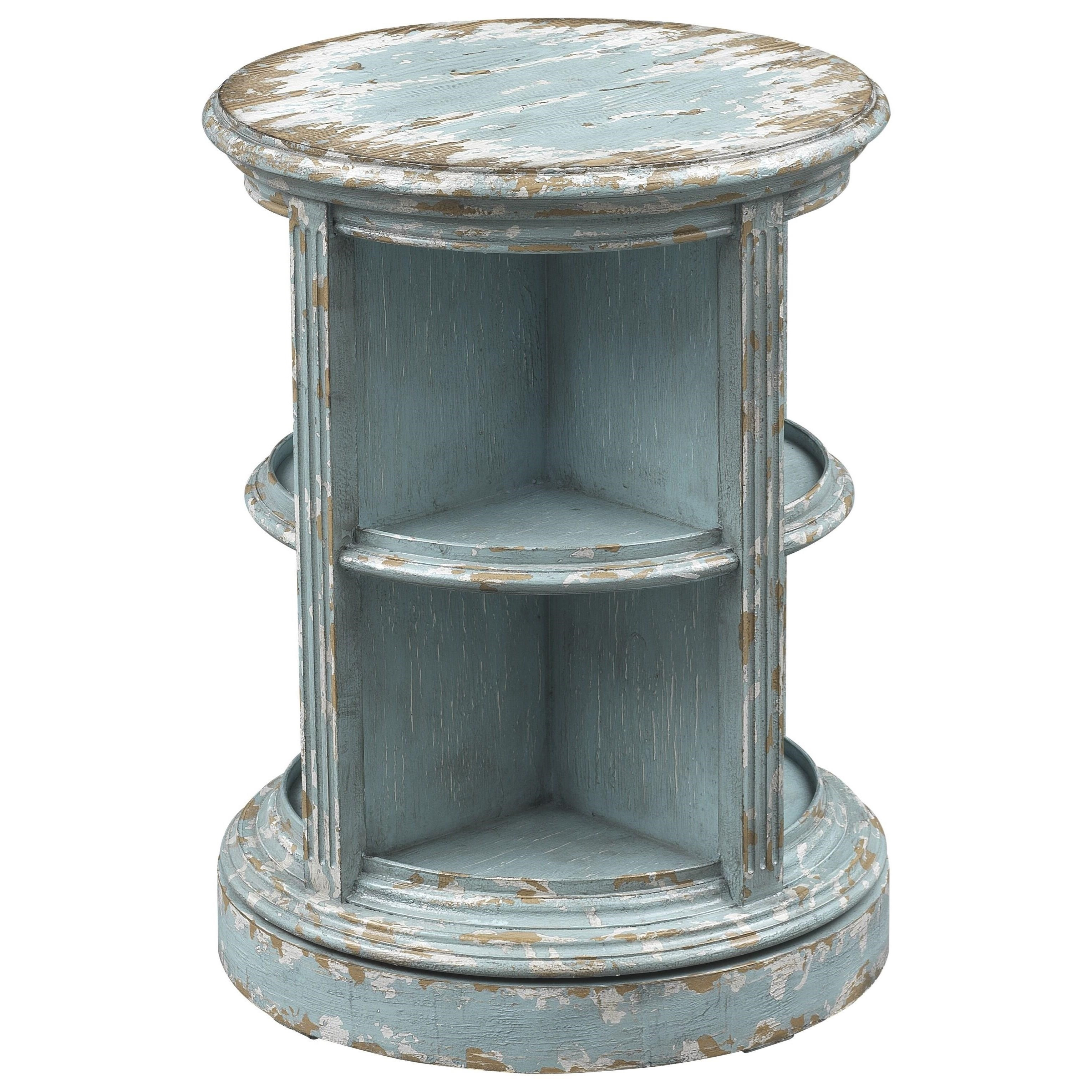 4020 Swivel Accent Table by Coast to Coast Imports at Goffena Furniture & Mattress Center