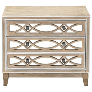 Glam Chest with 3 Drawers