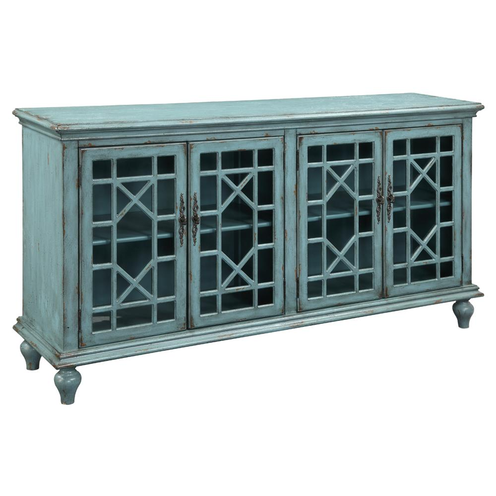 Accents by Andy Stein Media Credenza  by Kaleidoscope at Sprintz Furniture