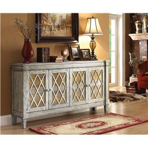 Coast to Coast Imports Accents by Andy Stein Four Door Credenza