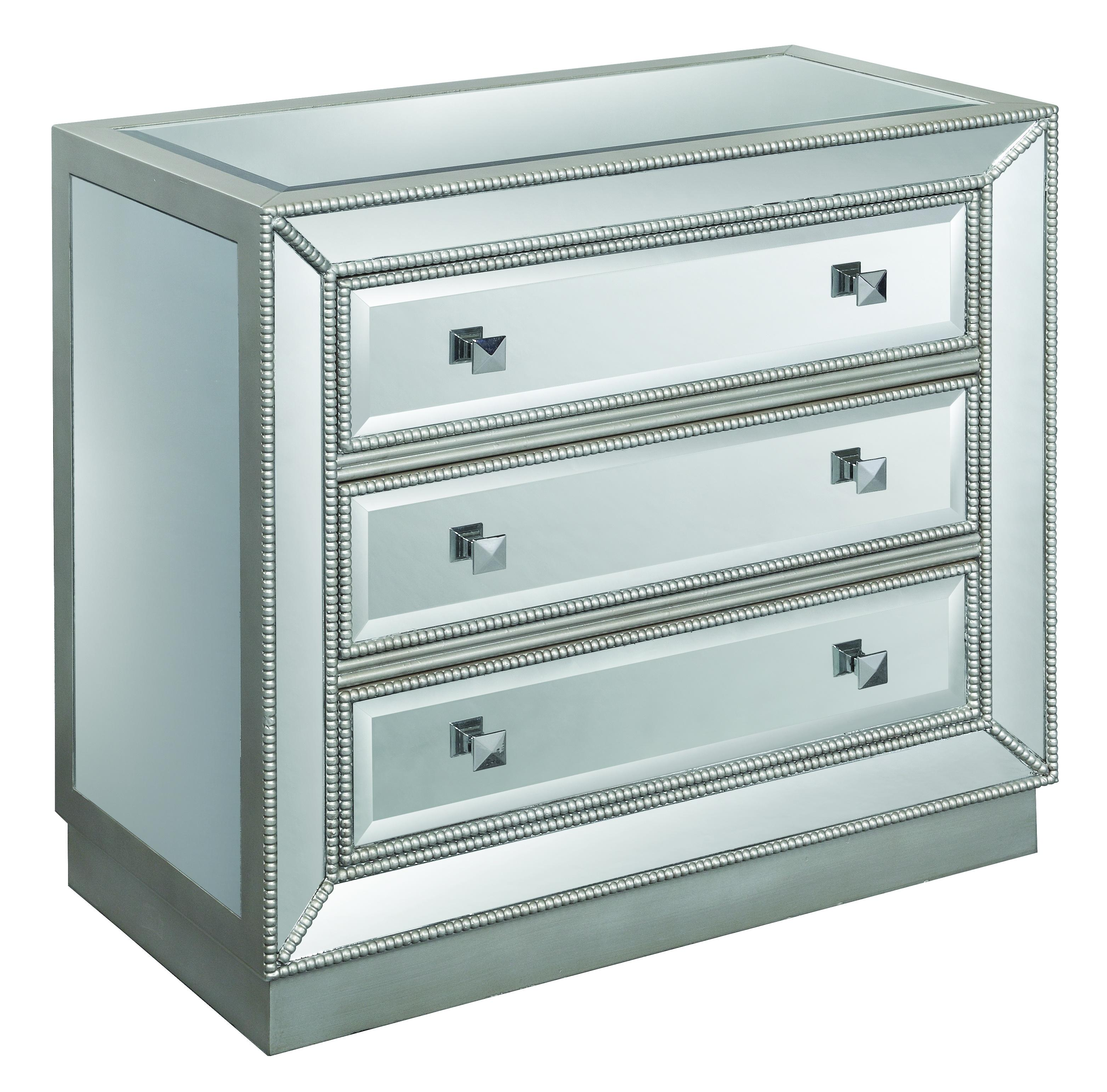 Accents by Andy Stein Three Drawer Chest by Kaleidoscope at Sprintz Furniture