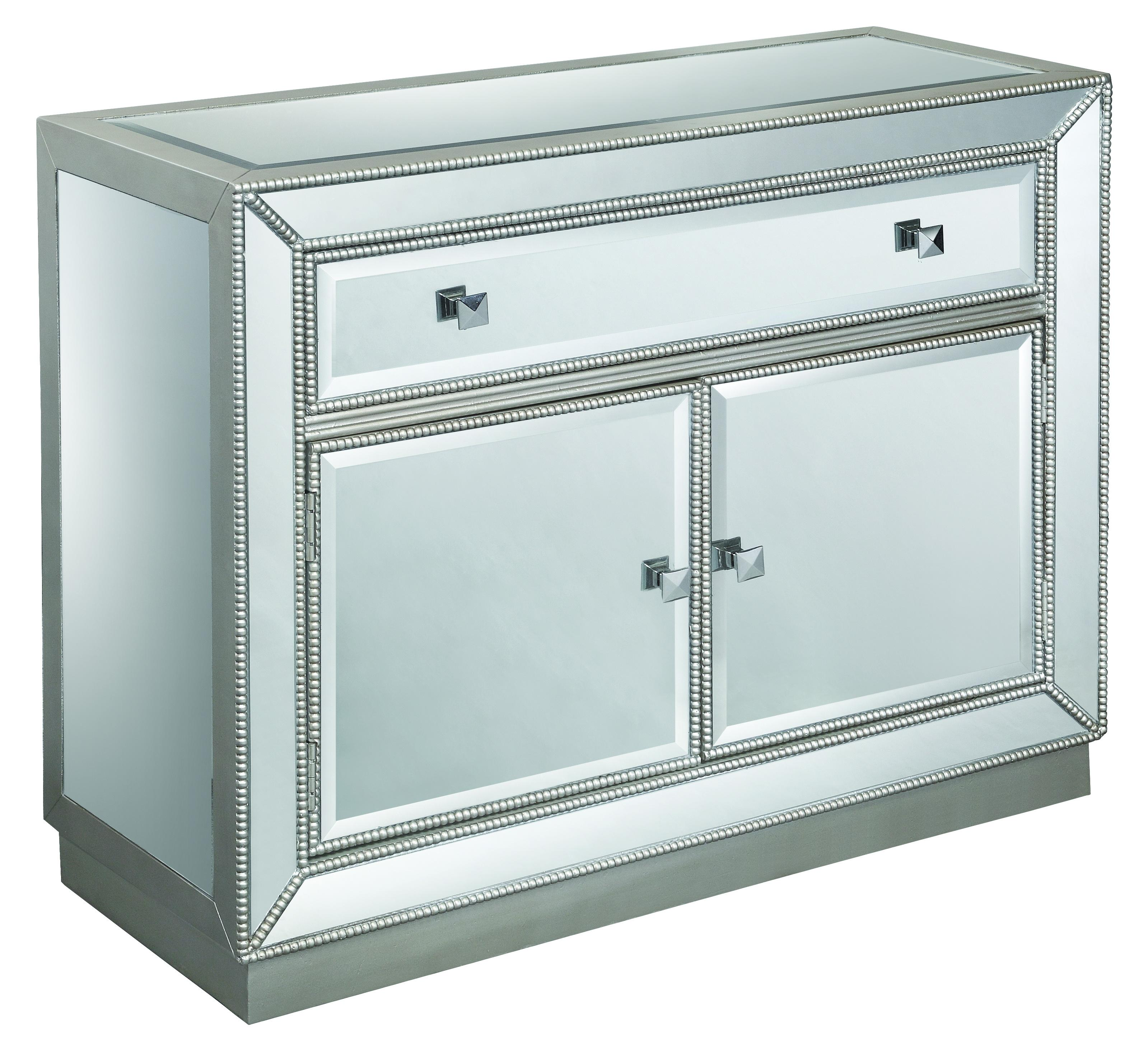Accents by Andy Stein One Drawer Two Door Cabinet by Coast to Coast Imports at Upper Room Home Furnishings