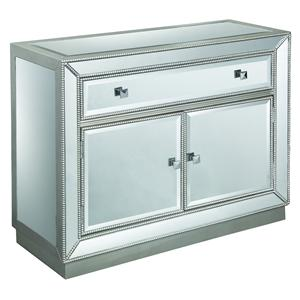 One Drawer Two Door Cabinet