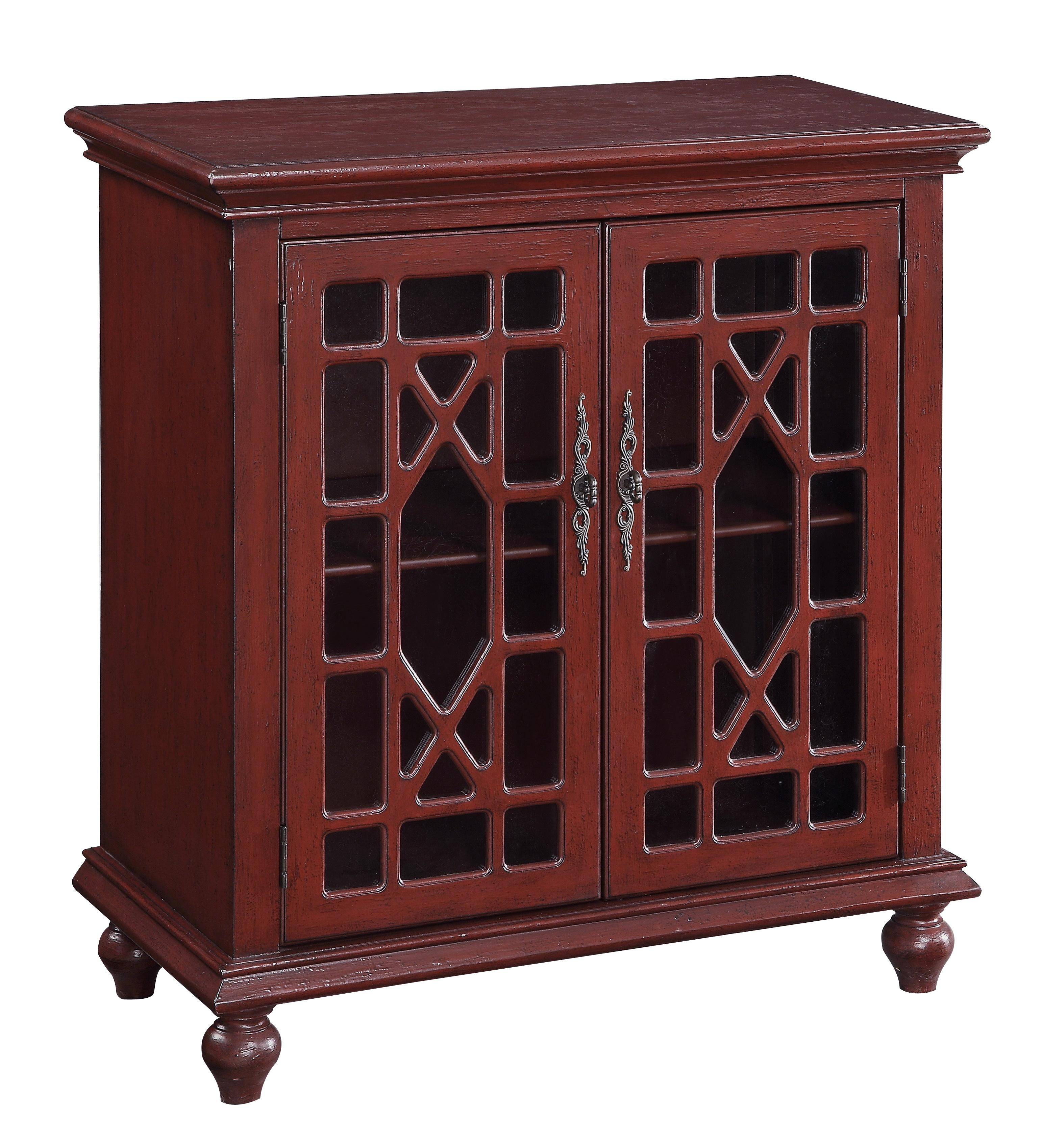 Accents by Andy Stein Two Door Cabinet at Sadler's Home Furnishings