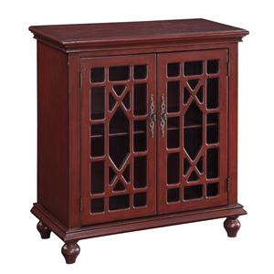 Coast to Coast Imports Accents by Andy Stein Two Door Cabinet