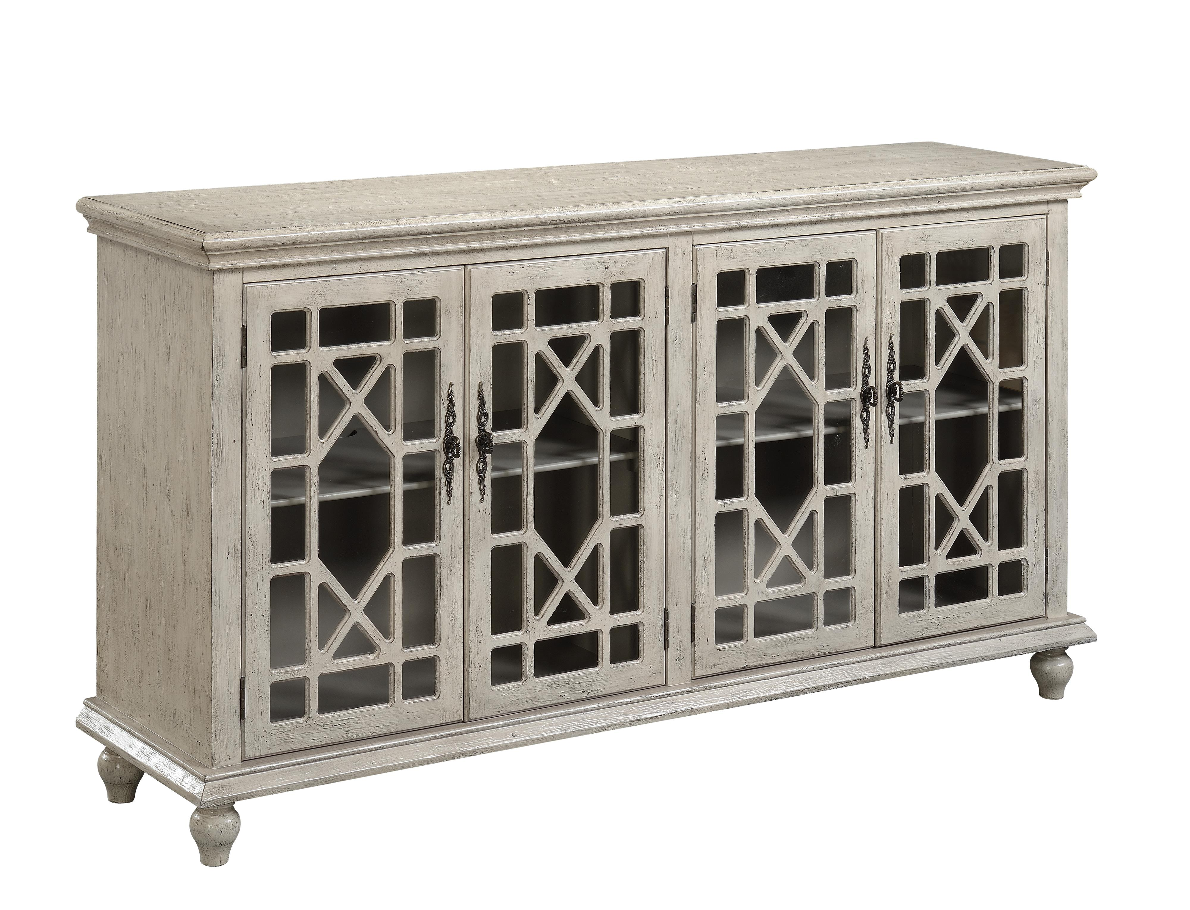 Accents by Andy Stein Media Credenza  by Coast to Coast Imports at Crowley Furniture & Mattress