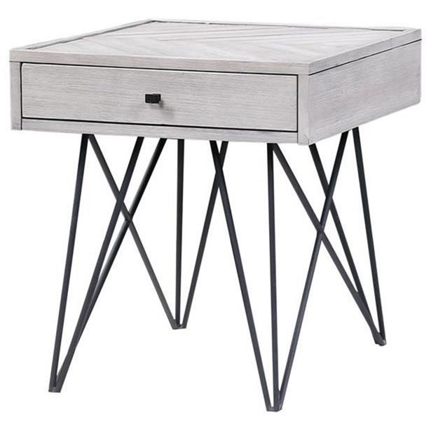 Aspen Court II One Drawer End Table by Coast to Coast Imports at Baer's Furniture
