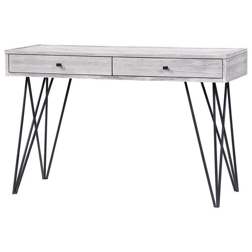 Aspen Court II Two Drawer Console Table by Coast to Coast Imports at Johnny Janosik