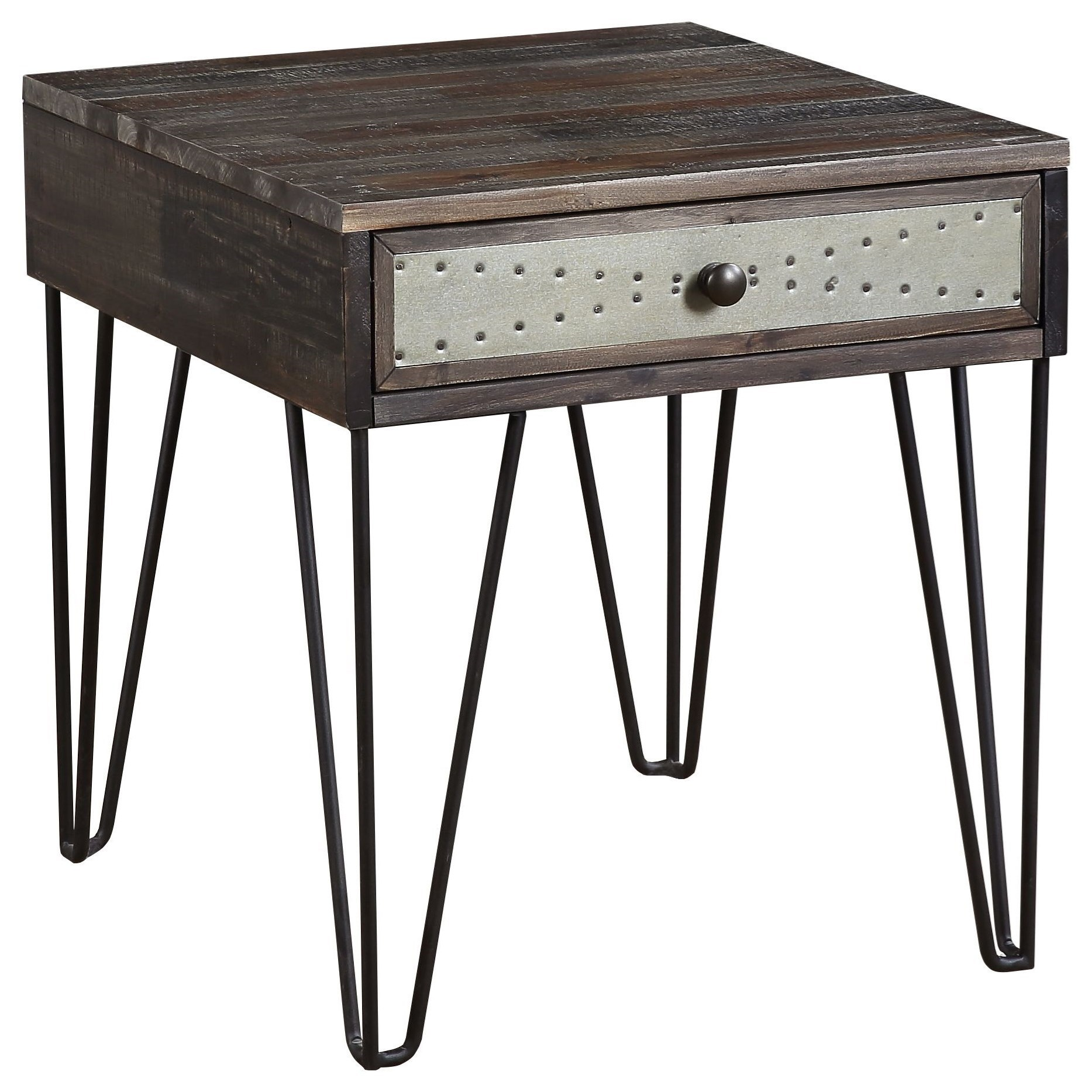 Aspen Court Vintage 1-Drawer End Table by Coast to Coast Imports at Baer's Furniture