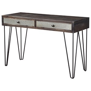Industrial 2-Drawer Console