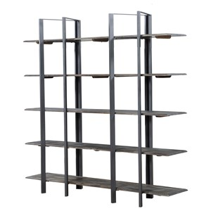 Industrial Open Bookshelf Etagere