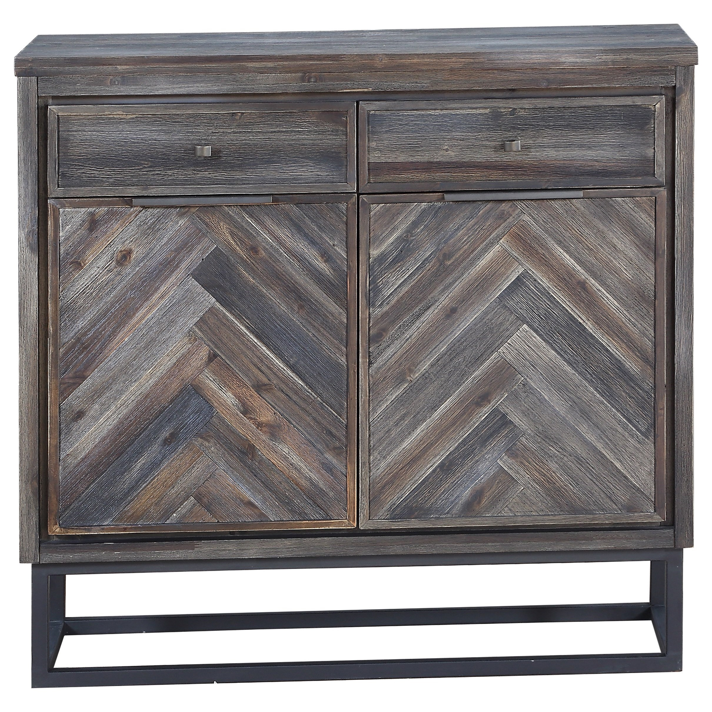Aspen Court Two Door Two Drawer Cabinet by Coast to Coast Imports at Baer's Furniture