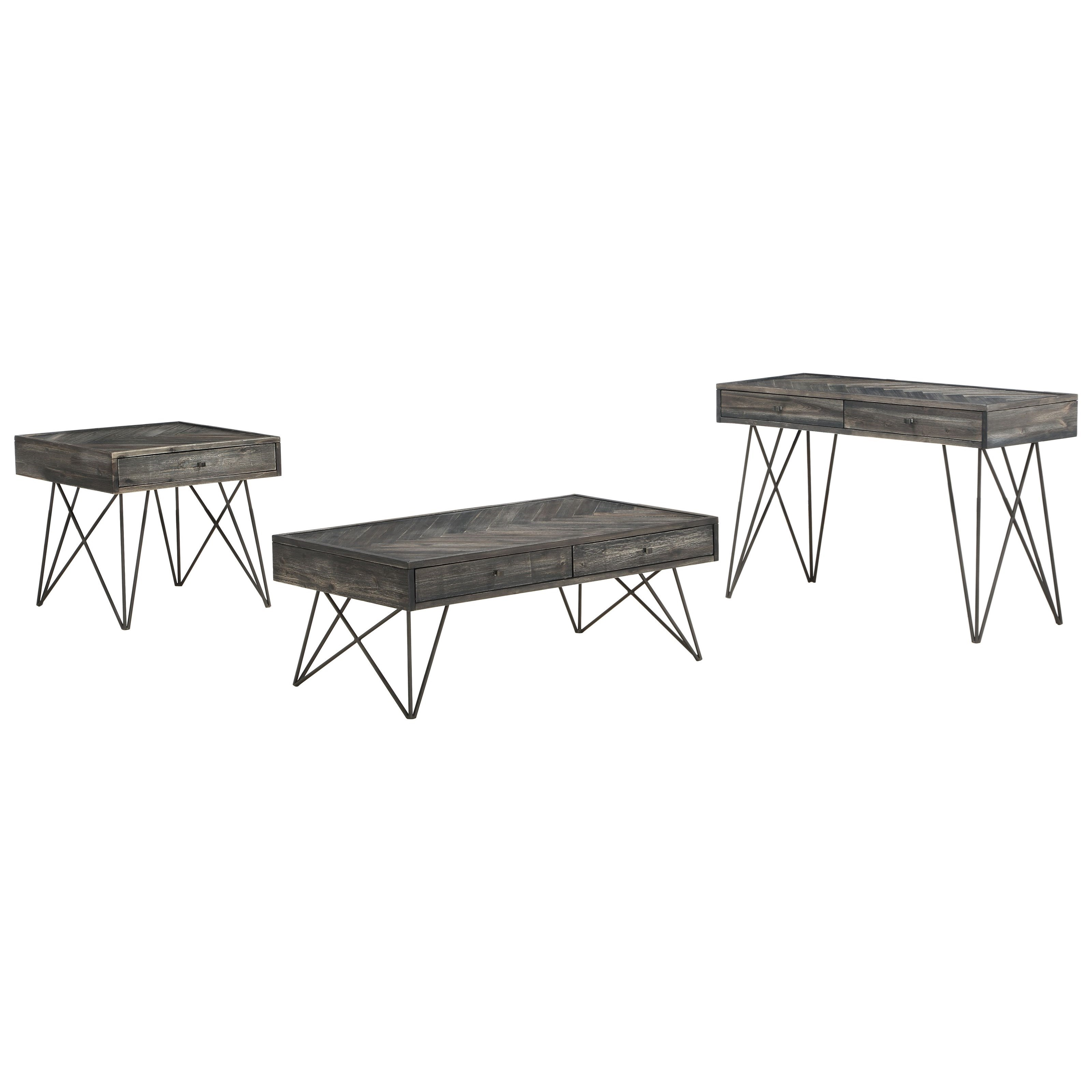 Aspen Court Occasional Table Group by Coast to Coast Imports at Johnny Janosik