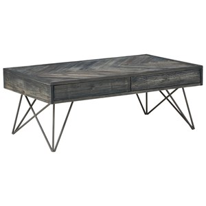 2-Drawer Cocktail Table