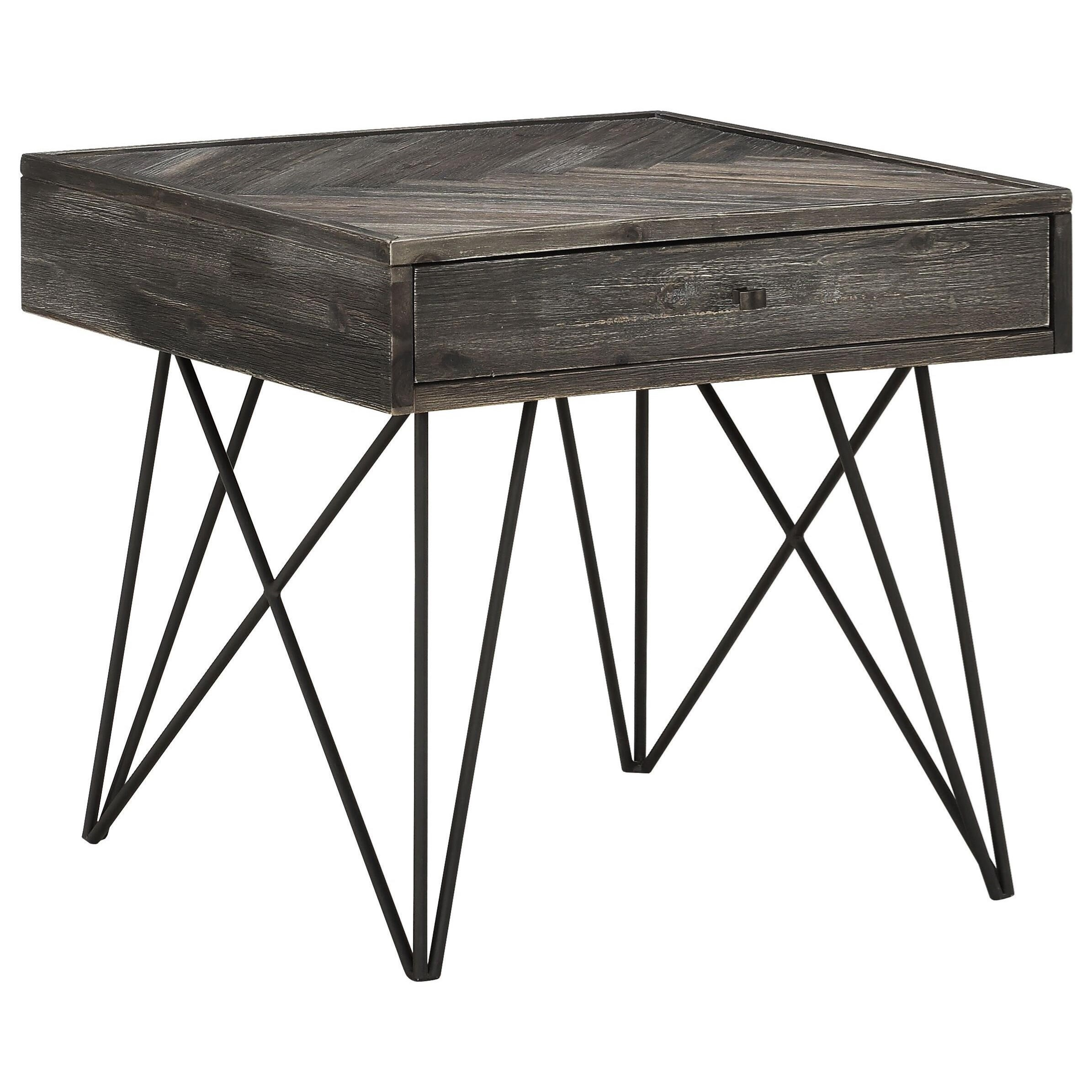 Aspen Court 1-Drawer End Table by Coast to Coast Imports at Johnny Janosik