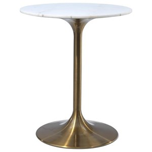 Glam Counter Height Table with Marble Top