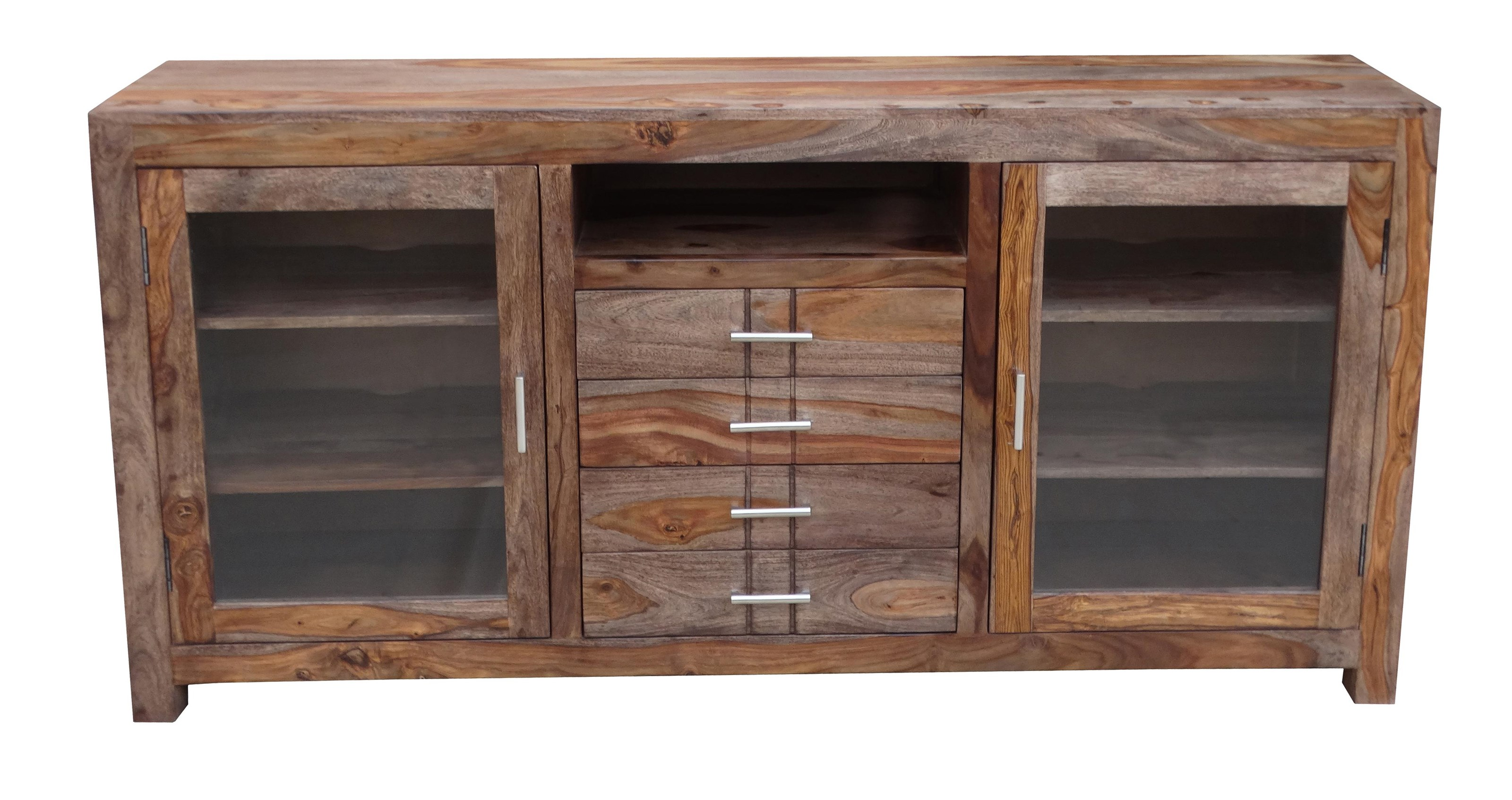 Accents 4-Drawer 2-Door Credenza by Coast to Coast Imports at Baer's Furniture