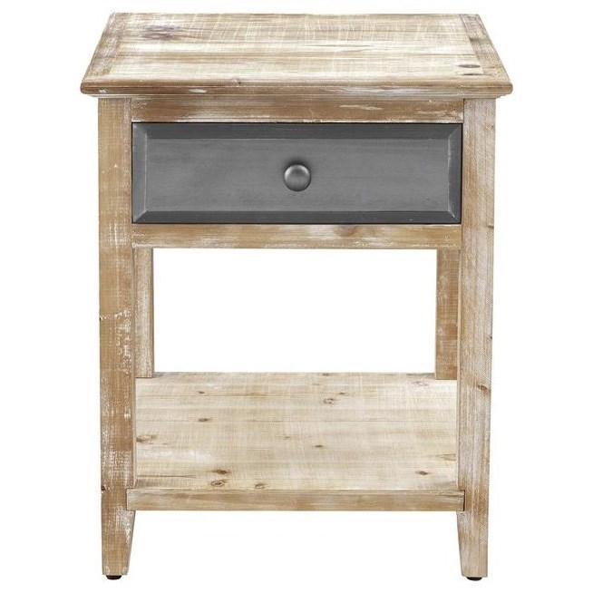 Bali One Drawer End Table by Coast to Coast Imports at Baer's Furniture