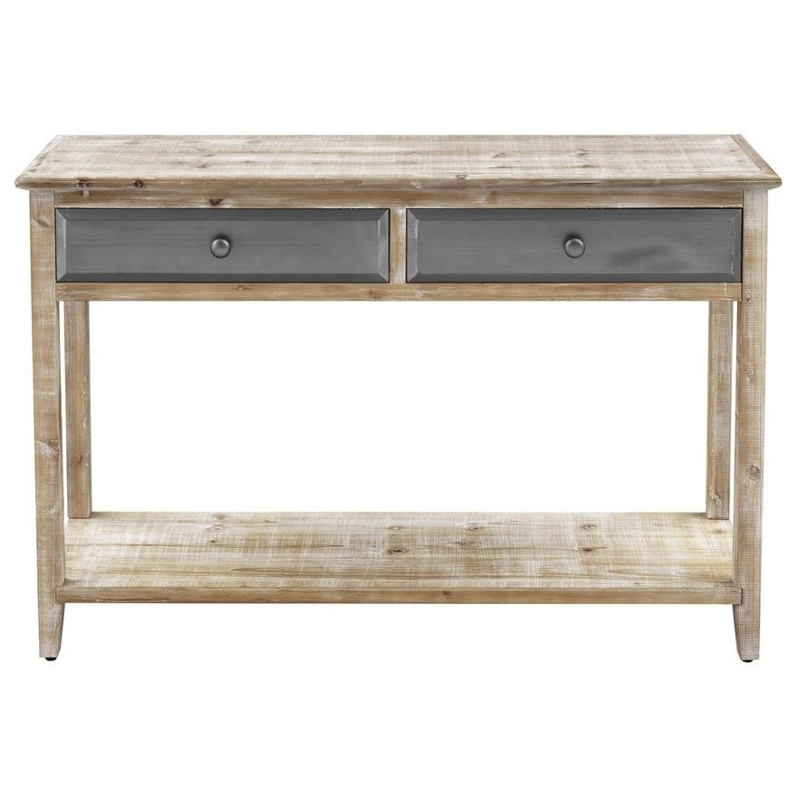 Bali Two Drawer Console by Coast to Coast Imports at Johnny Janosik