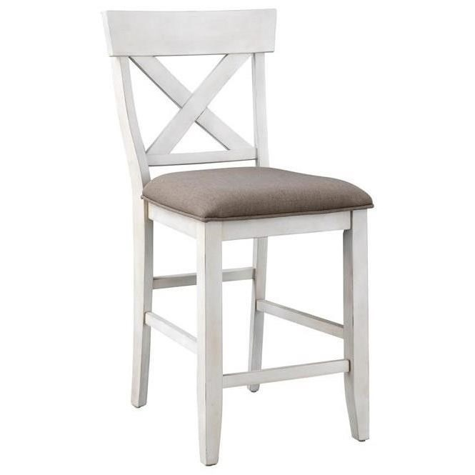 Bar Harbor II Counter Height Dining Chair by Coast to Coast Imports at Johnny Janosik