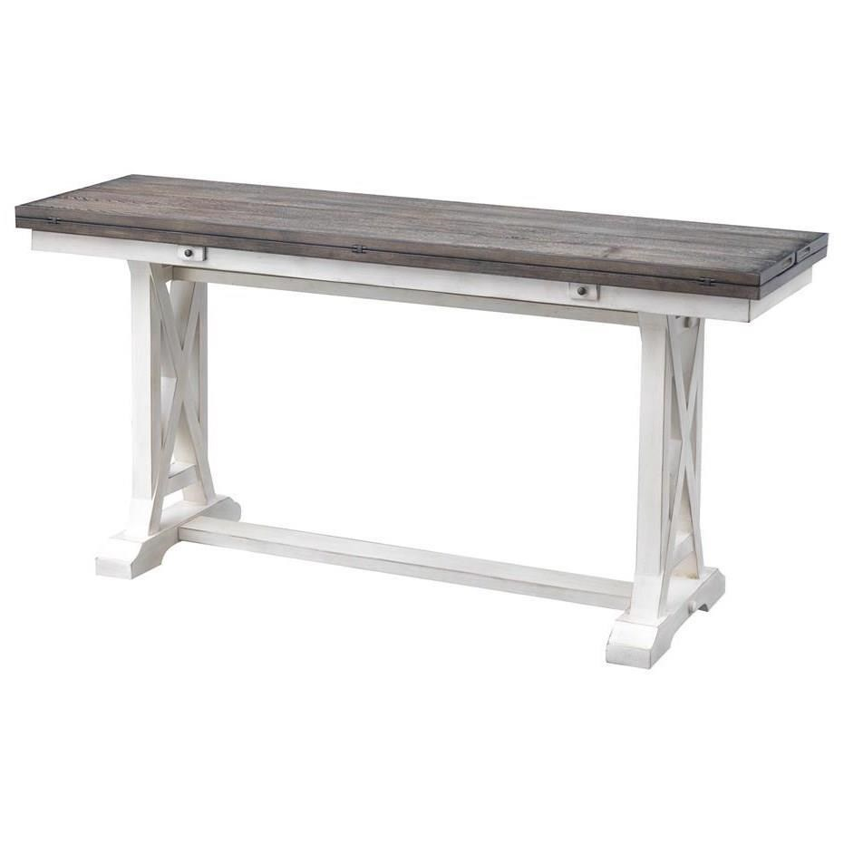 Bar Harbor II Fold Out Console by C2C at Walker's Furniture