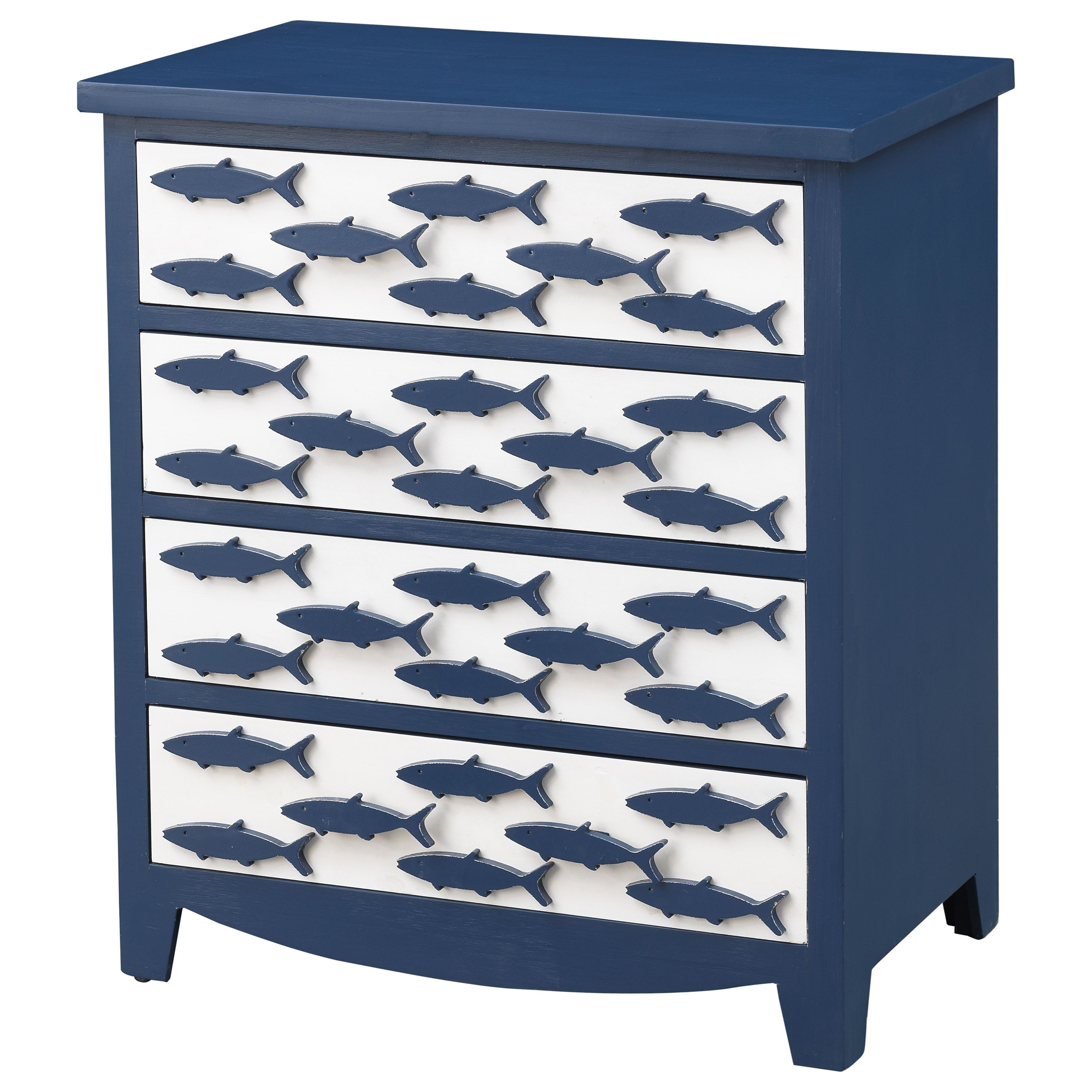 Pieces in Paradise 4-Drawer Chest by Coast to Coast Imports at Baer's Furniture