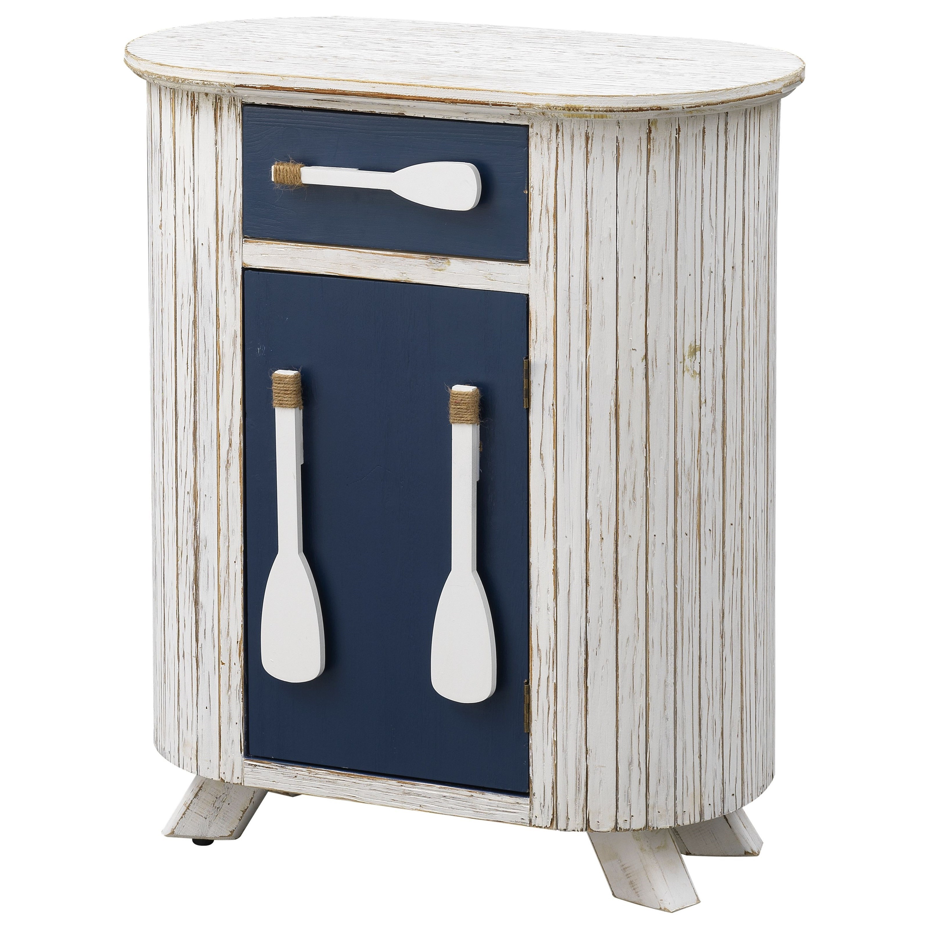 Pieces in Paradise 1-Drawer, 1-Door Accent Cabinet by Coast to Coast Imports at Bullard Furniture