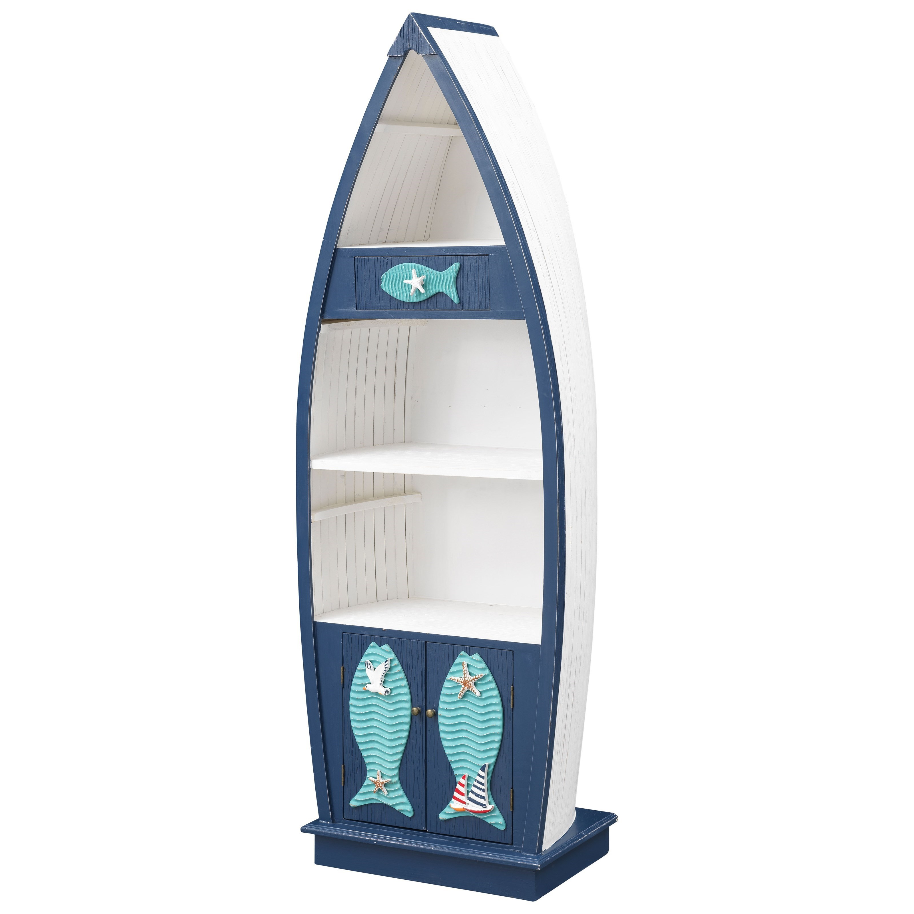 Pieces in Paradise Nautical Bookcase by Coast to Coast Imports at Baer's Furniture