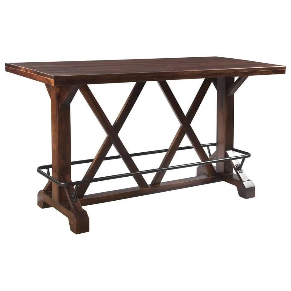 Braxton Pub Height Dining Table by Coast to Coast Imports at Prime Brothers Furniture