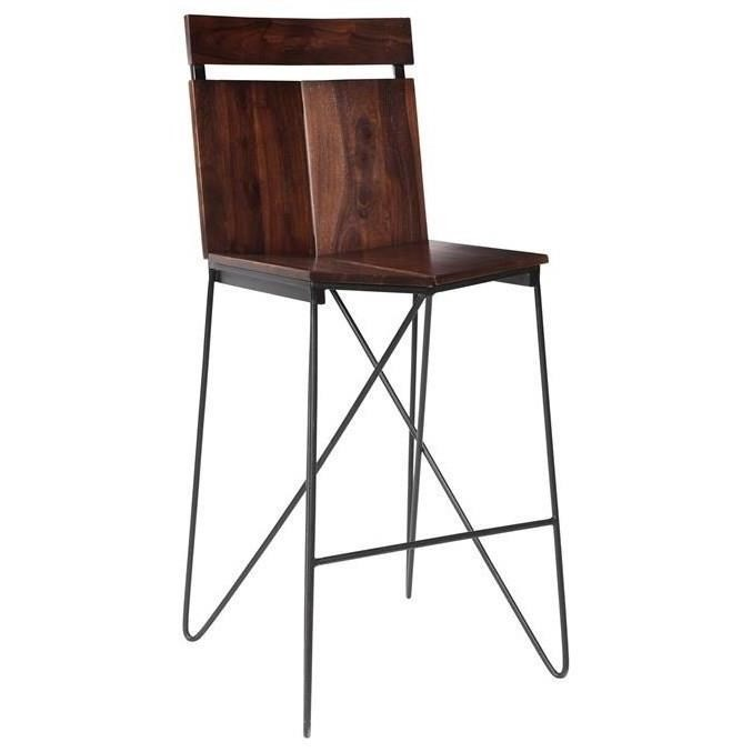 Braxton Pub Height Barstool by C2C at Walker's Furniture