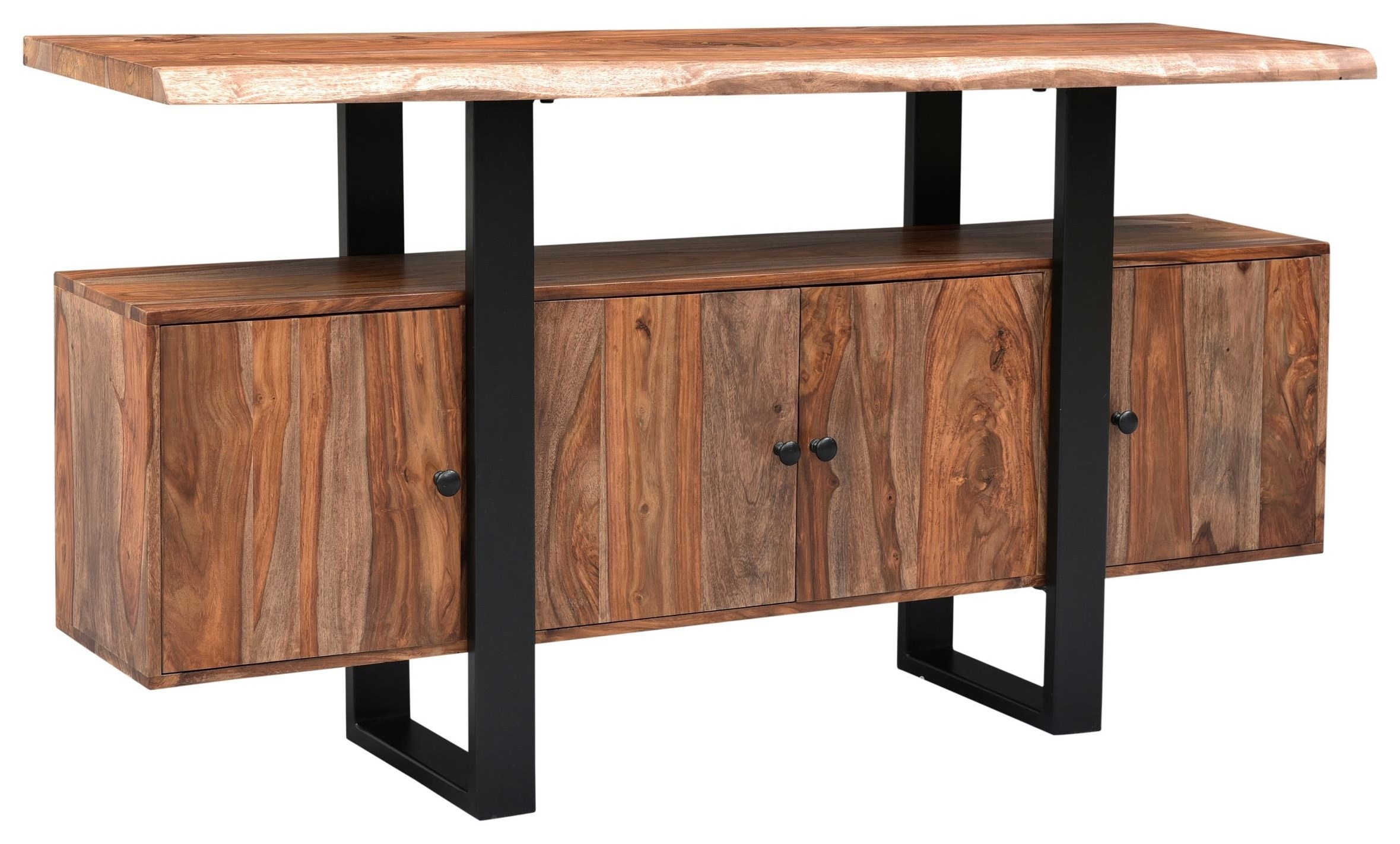 Gilliam Live Edge Credenza by C2C at Walker's Furniture